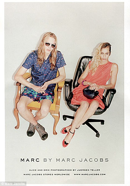 Alice Dellal w kampanii Marc by Marc Jacobs