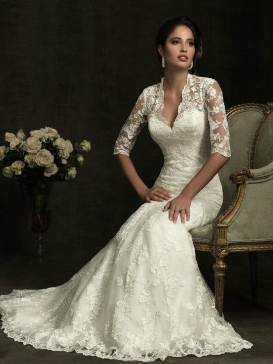 Suknie ślubne Allure Bridals na rok 2012
