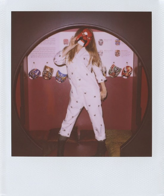Amy Adams w lookbooku Band of Outsiders