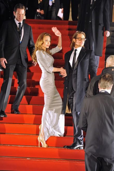 Angelina Jolie w sukni Ralph & Russo (FOTO)
