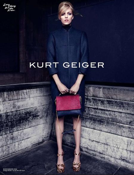 Anja Rubik w kampanii Kurta Geigera (FOTO)