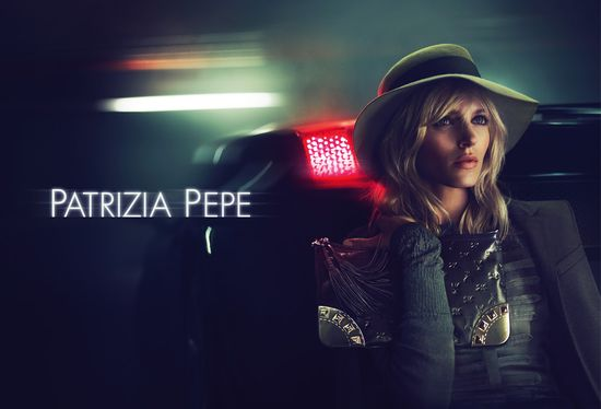 Anja Rubik w najnowszej kampanii Patrizia Pepe