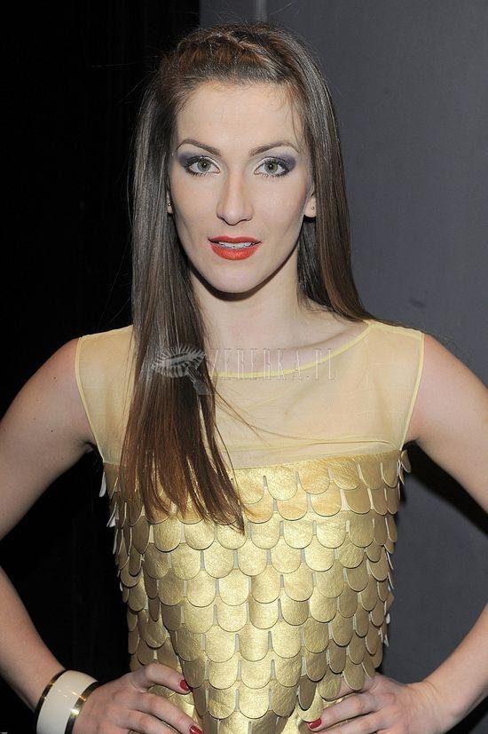 Ania Bosak cała w złocie (FOTO)
