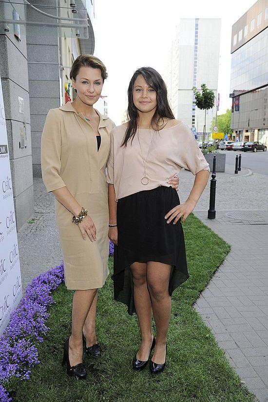 Anna Popek z córkami (FOTO)