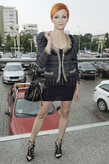Anna Wyszkoni pokazje nogi (FOTO)