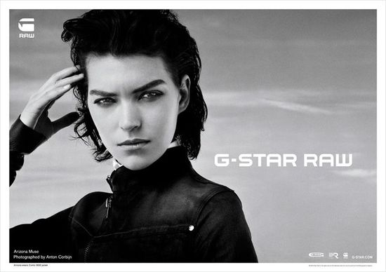Arizona Muse w kampanii G-Star Raw (FOTO)