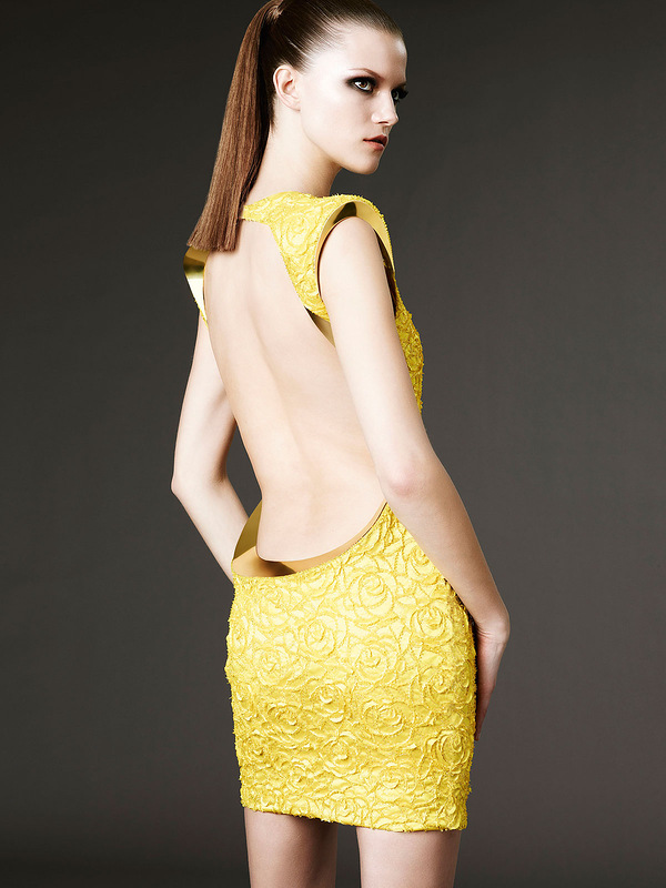 Kasia Struss ponownie dla Atelier Versace!