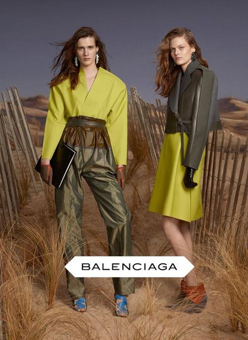 Balenciaga Jesień/Zima 2012 (FOTO)