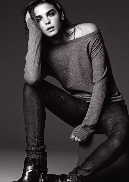 Bambi Northwood Blyth w kampani Armani Jeans (FOTO)