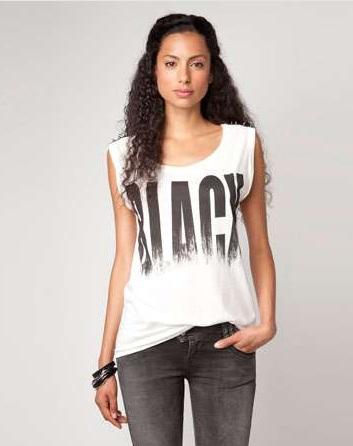 Bershka Black&White
