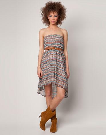 Asymetryczne sukienki - przegląd (FOTO)