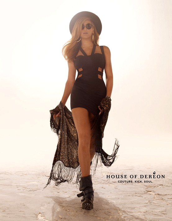 Beyonce promuje ubrania swojej marki (FOTO)