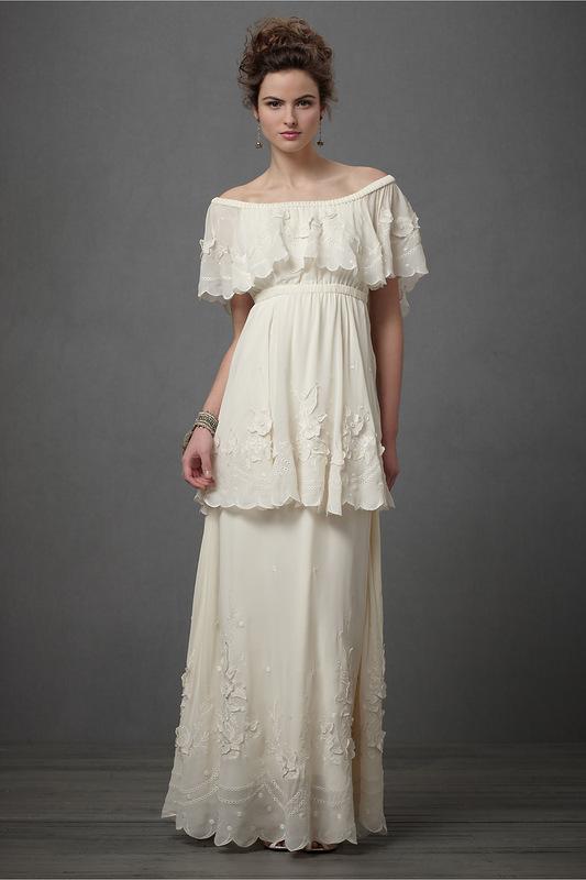 Кремовое платье фото 5