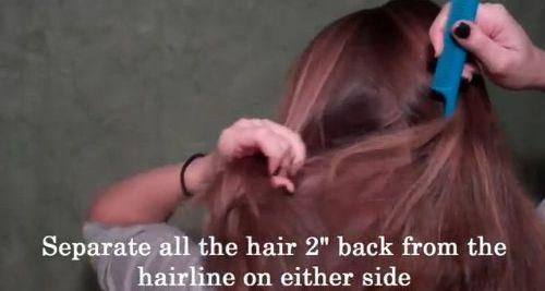 Fantazyjny kucyk w stylu Blair Waldorf (VIDEO)