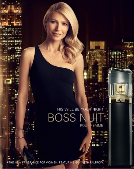 Gwyneth Paltrow w kampanii perfum Hugo Boss