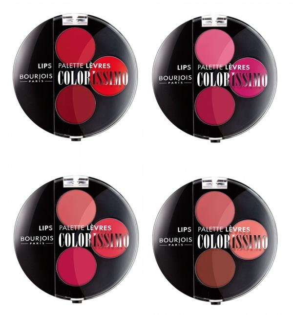 Bourjois - paletki do makijażu ust Colorissimo