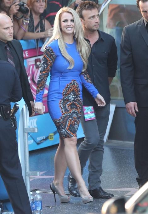 Britney Spears w sukience Stelli McCartney (FOTO)