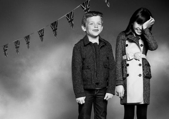 Jesienna kampania Burberry Childrenswear