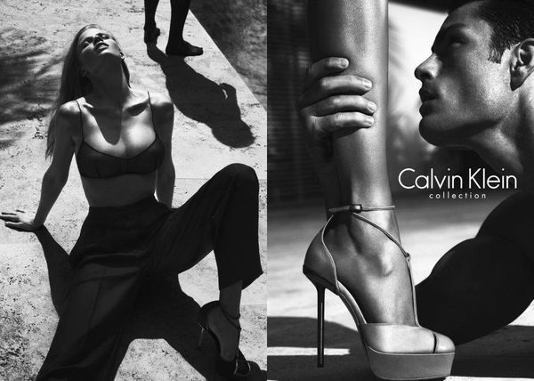 Lara stone dla Calvina Kleina (FOTO)