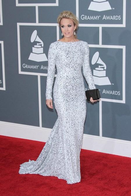 Carrie Undwerwood Gwiazdy na gali Grammy