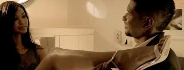 Chanel Iman wystapiła w odważnym teledysku Ushera (VIDEO)