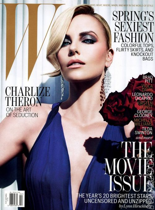 Posągowa Charlize Theron
