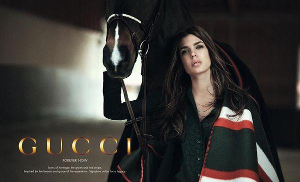 Charlotte Casiraghi dla Gucci (FOTO)