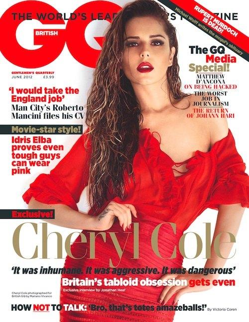 Seksowna Cheryl Cole w GQ