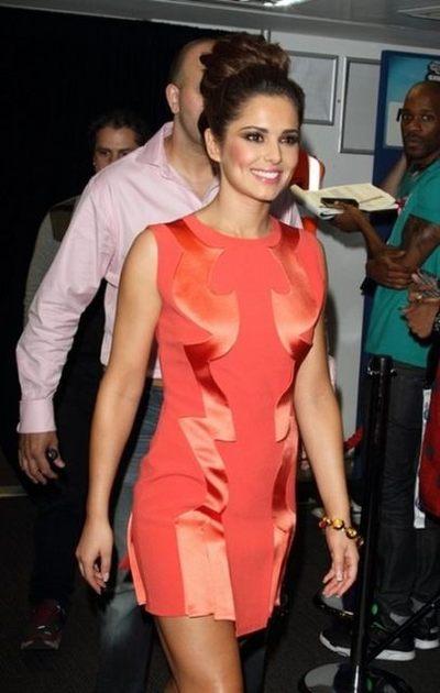 Cheryl Cole w sukience Hakaan (FOTO)