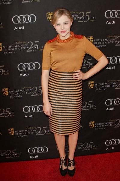Gwiazdy na imprezie BAFTA (FOTO)/Chloe Moretz