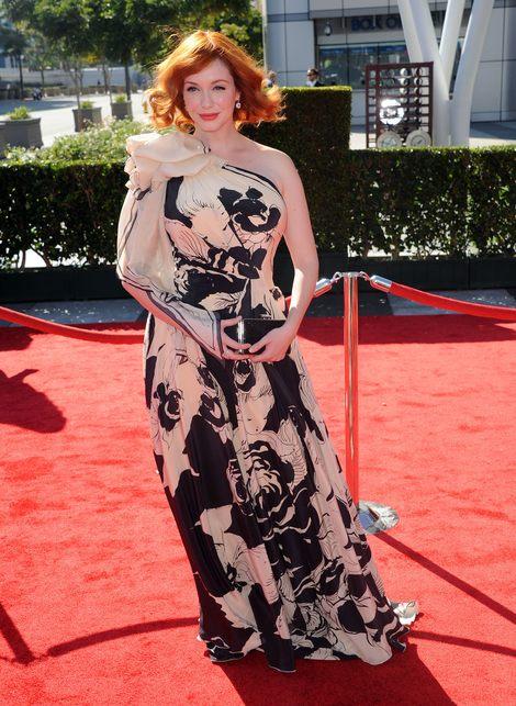 Christina Hendricks na gali Emmy (FOTO)
