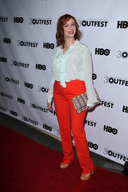 Christina Hendricks niepotrzebnie dodała sobie kilogramów