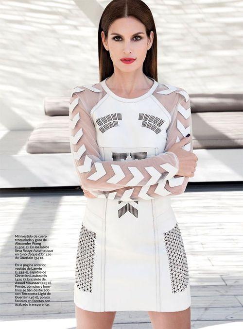 Cindy Crawford w oryginalnej sukience od Alexandra Wanga