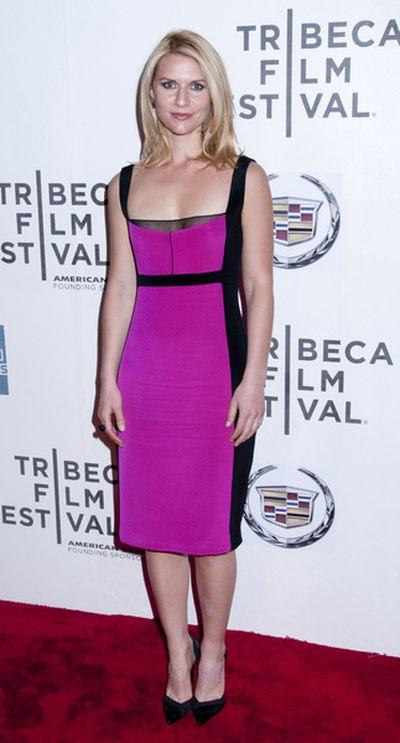 Claire Danes w sukience Narciso Rodrigueza (FOTO)