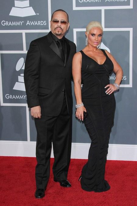Coco Ice T Gwiazdy na gali Grammy