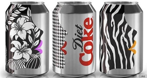 Nowe stylowe puszki Coca-Coli Light (FOTO)