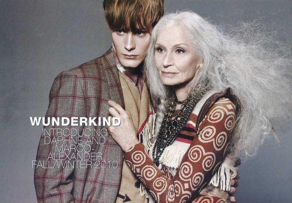 Daphne Selfe-najstarsza supermodelka (FOTO)