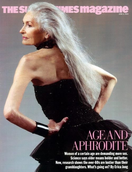 Daphne Selfe - najstarsza supermodelka (FOTO)