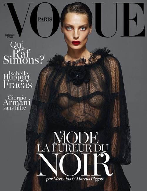 Werbowy, Moss i Stone w Vogue Paris (FOTO)