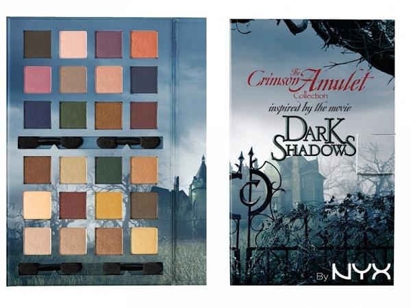 Dark Shadows według NYX Cosmetics