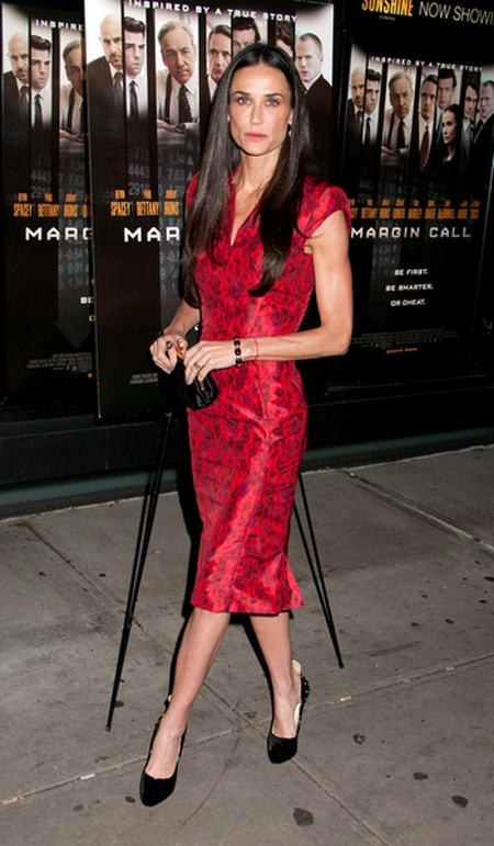 Ostro wyretuszowana Demi Moore (FOTO)