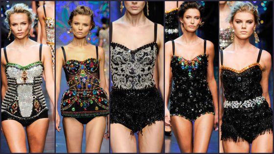 Karolina Kurkova w Dolce & Gabbana