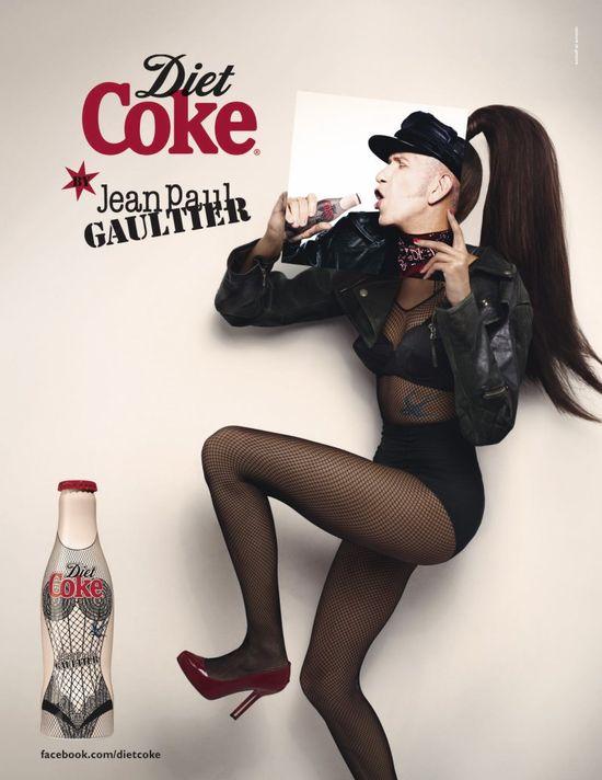 Jean Paul Gaultier dla Diet Coke (FOTO+VIDEO)