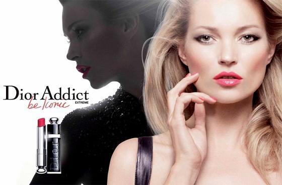 Kate Moss ponownie dla Dior Addict