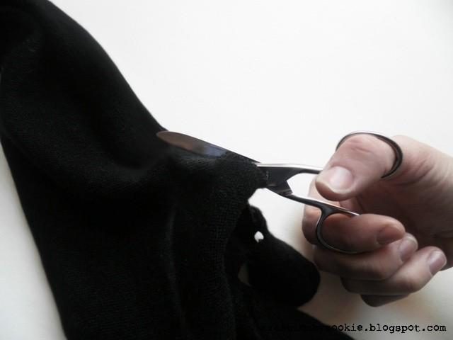 Zrób to sama: Cut out shoulder