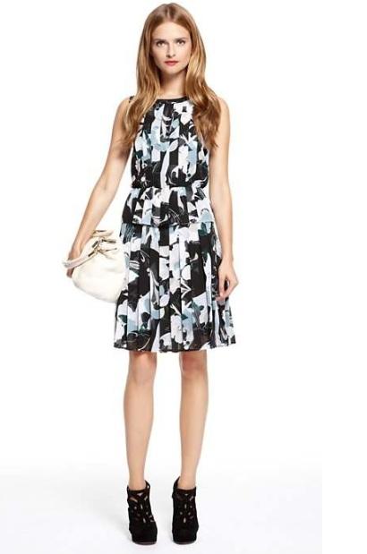 Sukienki DKNY jesień 2012