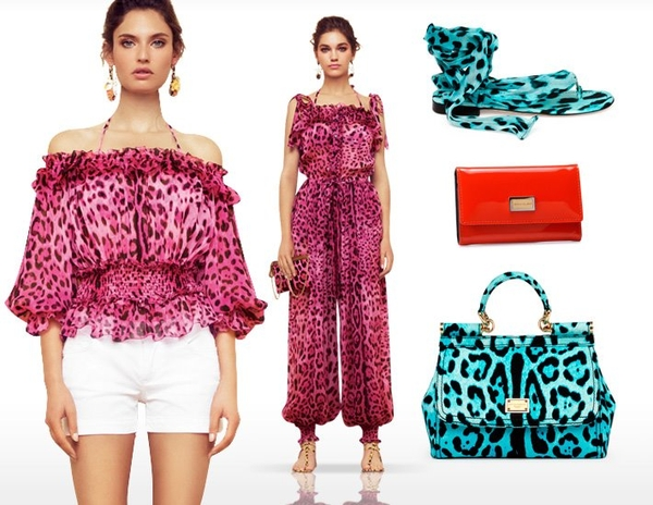 Fluo cętki od Dolce&Gabbana