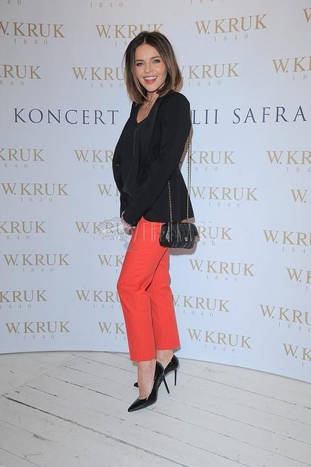 Kolorowe spodnie Edyty Herbuś (FOTO)