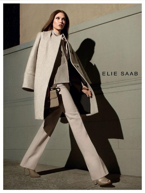 Karlie Kloss powraca jako twarz Elie Saab (FOTO)