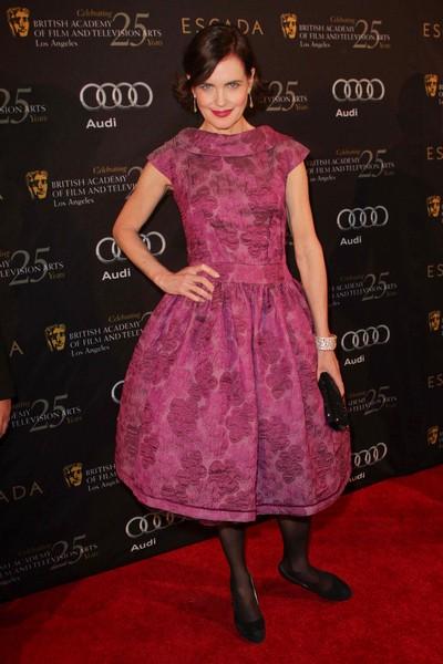Gwiazdy na imprezie BAFTA (FOTO)/Elizabeth McGovern